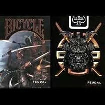 Cartas Bicycle Feudal Samurai