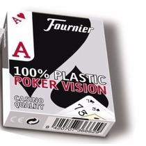 Naipes Fournier Poker 100% Plastico Original Made In España