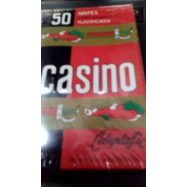 Naipes Cartas Españolas X 50 Casino Lavables Kit X 3 Mazos
