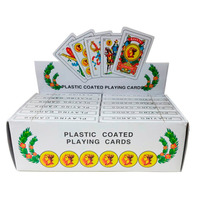 Promo 12 Mazos 50 Cartas Españolas Naipes Plastificado