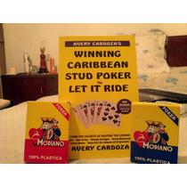 Poker Naipes Y Libro Fichas Estrellas Del Poker