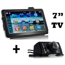 Gps 7 Pulgadas Igo +garmin Xt + Tv + Cam + Bluetooth +stock!