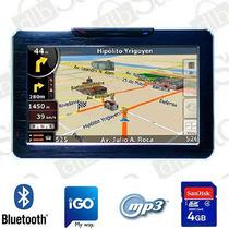 Gps Dbs 5880 Bluetooth Mp3 Mp4 4gb + Funda Envio Gratis