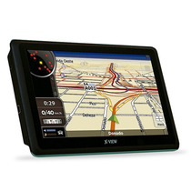 Gps 7 Pulgadas X View Mapas + Tv Digital + Alertas Vel + Gta