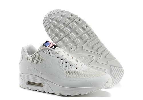 zapatillas nike air max 90 hyperfuse blancas