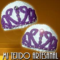 Princesa Sofia - Gorro Tejido Al Crochet