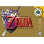 Juego The Legend Of Zelda Ocarina Of Time Nintendo 64