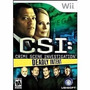 Juego Csi Deadly Intent Nintendo Wii