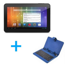 Tablet Polaroid 10 Quad Core Hdmi Gps Bt + Funda Con Teclado