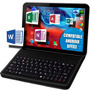 Tablet Office Quadcore New Kikat 4.4 Hd+teclado Electroshows