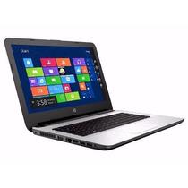 Notebook Hp 14-ac112la Core I3 8gb 1tb Hdmi Rwdvd Windows 10