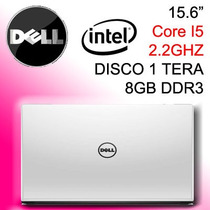 Notebook Dell 15.6 - Core I5 2.2 - Disco 1 Tera - 8gb Ram