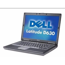 Notebook Dell Latitude D630 Core 2 Duo 2gb Ram Hd80gb Oferta