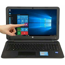 12 Cuotas Notebook Hp 15.6 Touchscreen