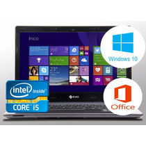 Notebook Exo Smart R7 I5 + Windows 10 + Office 1año Gtia