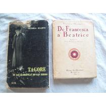 Lote De 2 Libros De Victoria Ocampo