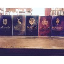 Juego De Tronos - 5 Libros - Martin George - Game Of Thrones