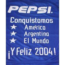 Estampado Conquistamos América Argentina El Mundo Boca 2003