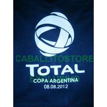 Parche Copa Argentina Boca Juniors 2012 Campeón Final Racing