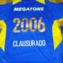 2006 Clausurado Estampado Boca Juniors 2006 Camiseta Titular