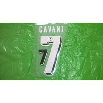 Estampado Original Cavani Camiseta Napoli Titular 2012-13