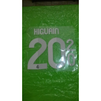 Estampado Original Higuian Camiseta Real Madrid 2012-2013