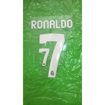 Estampado Original Ronaldo Camiseta Real Madrid 2012-2013