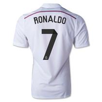 Estampado Real Madrid 2014 2015 1 Digito + Nombre