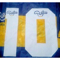 Estampado Numero Boca 1995 Olan Caniggia- Maradona