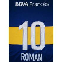 Números Boca Juniors Torneo Inicial 2013 Original-oficial