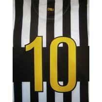 Números Boca Juniors Torneo Verano 2012 Camiseta Rayada B/n