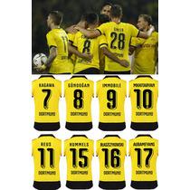 Numeros Borussia Dortmund 2015/2016 - Estampado En El Acto