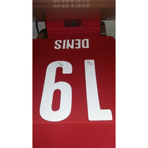 Estampado Numero Nombre - Independiente 2016 - Denis