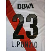Números River Plate 2012-2013 Original Y Oficial Adidas