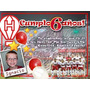 Tarjetas De Cumple: Futbol, Huracan, Velez, Central