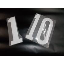 Números Letras Camisetas Fútbol Vinilos Estampado