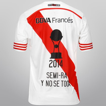 Camiseta River Plate Campeon Sudamericana 2015 Completo