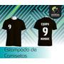 Estampado De Número - Nombre - Equipo En Camisetas De Fútbol