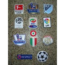Parches Oficiales Champions , Premier , Lfp , Serie A Y Mas