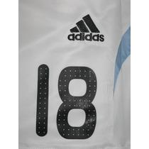 Números Chicos Camiseta Argentina Adidas 2008-2009 Oficial