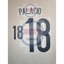 Estampado Número 18 Palacio Argentina Titular Brasil 2014