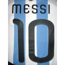 Números Argentina Mundial Sudáfrica 2010 Original Y Oficial