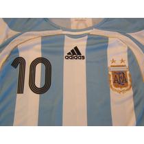 Números Chicos Argentina Adidas 2006-2007 Oficial Y Original