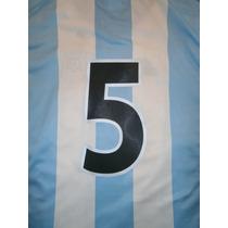 Números Camiseta Argentina Adidas 2001-02 Titular-alternativ