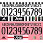 Estampado Numero Juventus 2015 2016 Oficiales