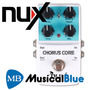 Pedal Analogo Carcasa De Metal - True Bypass Nux Chorus Core