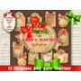 12 Png Labels Viñetas Regalos Navidad Etiquetas Tarjetitas+