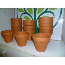 Macetas Macetitas Barro Numero 14 Bonsai Cactus Olivos