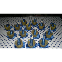 Souvenirs Balde Con Botellita Boca Juniors