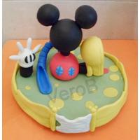 Adornos Torta Casa De Mickey Mouse